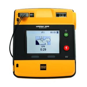 Physio Control Lifepak 1000 SE mit EKG Ansicht