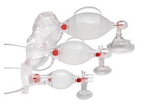 Ambu SPUR II Beatmungsbeutel mit Maske und Kontrollventil, Erwachsene Gr. 5