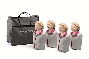 Laerdal Little Anne QCPR 4er-Pack