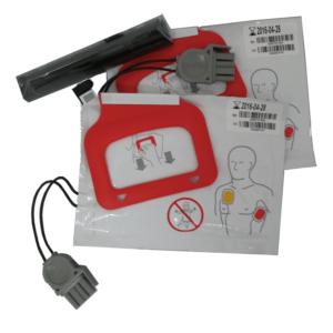 Physio-Control/Medtronic CR Plus Austauschset (1 ChargePak / 2 Elektrodensets)