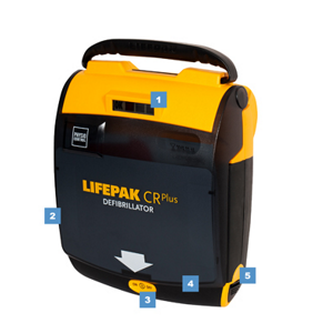 Physio Control Lifepak CR Plus Vollautomat